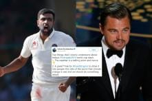 Ashwin's Tweet on Leonardo DiCaprio and Climate Change Ahead of India-Pakistan Game is On Point