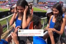 Indian Fan Proposing to His Girlfriend During India-Pakistan Match is Warming Hearts Online