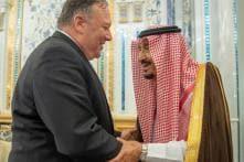 US Secretary of State Mike Pompeo Meets Saudi King over Iran Crisis