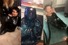 Netizens are Sucking the Air Out of Bin Bags to Complete This New Viral Vacuum Challenge
