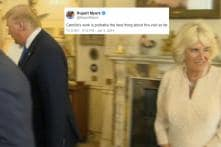 Move Over Priya Varrier, Camilla Bowles' Wink Behind Donald Trump Is The Internet's New Sensation