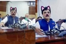 Oops! Imran Khan's Party Live-streams Govt Meet on Facebook With Cat Filter