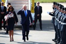 Donald Trump Calls London Mayor Sadiq Khan a 'Stone Cold Loser' as He Lands in UK