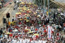In Years' Biggest Rally, Thousands March in Hong Kong to Protest Against China Extradition Bill