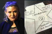 Fans Want to Replace Donald Trump's Star with Carrie Fisher's on Hollywood Walk of Fame