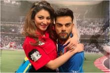 Urvashi Rautela is Virat Kohli's Biggest Fangirl in this Pic from ICC World Cup