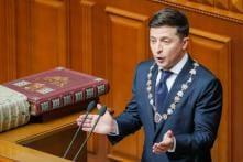 New Ukraine President Volodymyr Zelenskiy Commits to NATO, European Union Membership