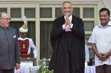 Justice Dhirubhai Naranbhai Patel Takes Oath as Chief Justice of Delhi HC
