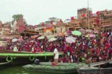 Devotees Take Holy Dip In River Ganga On 'Ganga Dussehra'