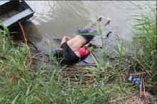 Bodies of Migrant Man, Daughter Who Drowned Crossing into US Sent Back to Native El Salvador