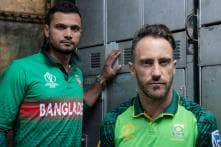 ICC World Cup 2019 | Brittle South Africa Face Potential Banana Skin Against Bangladesh