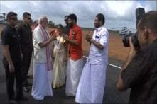 PM Modi Arrives in Kerala, Will Offer Prayers at Shrines of Guruvayur Sri Krishna, Lord Venkateswara