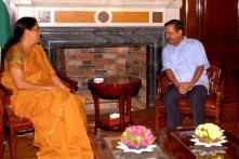 CM Arvind Kejriwal Meets Union Minister Sitharaman, Assures Delhi Govt's Full Cooperation to Centre