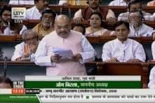 Amit Shah Blames Congress, Nehru for Sowing 'Seeds of Mistrust' in J&K, Attacks Dynastic Politics