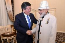 Kyrgyz President Gifts Traditional Hat, Coat to PM Modi