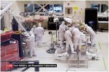 NASA Installs Webcam to Give Live Feed of making of Mars 2020 Rover to Viewers