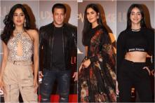 Bharat Premiere: Salman Khan, Katrina Kaif, Janhvi Kapoor, Ananya Panday in Attendance, See Pics