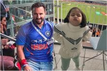 This Pic of Saif Ali Khan With Ziva Dhoni from India Vs Pakistan Match Will Melt Your Heart