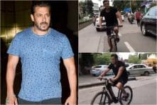 Salman Khan Gets Trolled for Cycling Without Helmet, Netizens Alert Mumbai Police