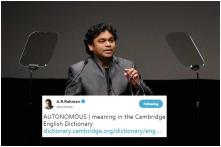 What AR Rahman's  'Autonomous' Tweet Amid Hindi Imposition Debate May Mean for Tamil Nadu