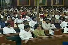 Rahul Gandhi Browses Phone During President's Address in Lok Sabha, Congress Says He Listened to Whatever was Necessary