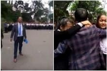 Strict Headmaster Gets Emotional After 'Heartbreaking' Farewell from Students in Mizoram