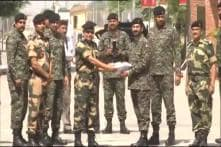BSF, Pakistan Rangers Exchange Sweets at Attari-Wagah Border on Eid