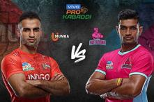 Pro Kabaddi 2019 HIGHLIGHTS, U Mumba vs Jaipur Pink Panthers in Hyderabad: Jaipur Thrash U Mumba 42-23