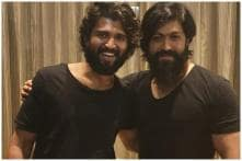 Men In Black: Arjun Reddy Star Vijay Deverakonda Bonds with KGF Actor Yash, Fans Gush Over Photo