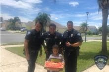 'Hungry' 5-year-old Boy Falsely Dials 911; US Cops Deliver Pizza to Teach Him Lesson
