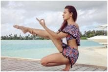After Abigail Pande, Aashka Goradia Shares Topless Picture, Promotes Nude Yoga