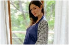 Actress Bruna Abdullah Looks Radiant as She Flaunts 38-week Baby Bump