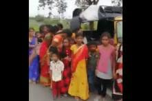 Watch: Viral Video Shows How 24 People Crammed into One Autorickshaw in Telengana