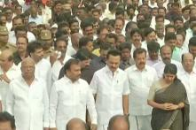 DMK Takes Out Peace Rally to Mark Karunanidhi's First Anniversary