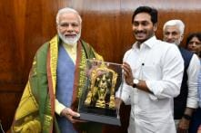Andhra CM YS Jagan Reddy Meets PM Modi, Discusses Special Category Status and Polavaram Project