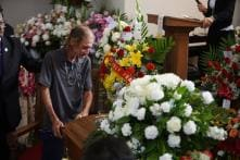 Thousands of Strangers Come for Miles to Mourn with Husband of Woman Killed in El Paso Shooting