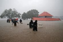 Kerala Floods: At Least 57 Dead, Over 1.2 Lakh in Relief Camps as 80 Landslides Hit in Just 2 Days