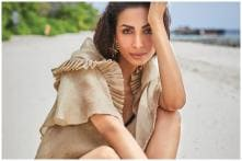 Malaika Arora Poses Up a Storm in Beach Photo Shoot in Maldives