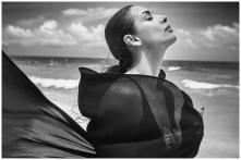 Malaika Arora Shares Unseen Black and White Photo From Seaside Photoshoot