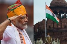 73rd Independence Day Celebrations: PM Narendra Modi Hoists Tricolour at Red Fort