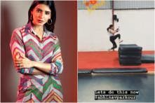 Samantha Akkineni Doing Parkour Stunts is the Perfect Therapy for Your Monday Blues