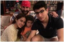 Sara Ali Khan Posts Throwback Photo With Ibrahim and Taimur to Wish Saif Happy Birthday