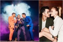 Joe Jonas-Sophie Turner Share Kiss Backstage During Happiness Begins Tour