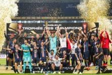 Angel di Maria Free Kick Earns PSG Comeback Win in French Super Cup