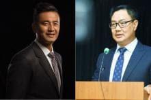 Kiren Rijiju, Bhaichung Bhutia Flag-off 'OP-Blue Freedom'