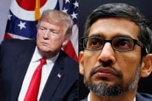 Trump Says Watching Google 'Very Closely' After Sacked Engineer's Claims on TV