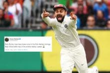 Jimmy Neesham Tried the 'Kohli Has No Runs in Ashes' Bait on Twitter and Indians Fell For it
