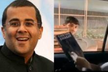 Chetan Bhagat Gets Pirated Version of His Own Book Sold To Him By a Hawker at Traffic Signal