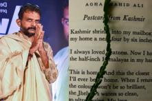 TM Krishna Recites Agha Shahid Ali's Poem 'Postcard from Kashmir' to Protest Communication Blackout