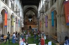 This Golf Course Inside a Cathedral Is Drawing Tourists Worldwide, and Critcism